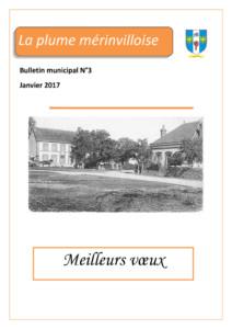 thumbnail of LA PLUME MERINVILLOISE N-03